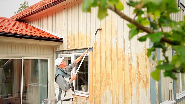 Måla hus förlängningsskaft
