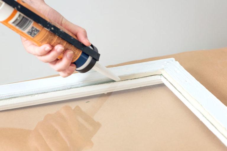kitta innan måla fönster