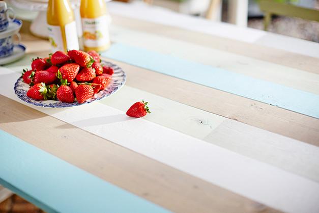 Måla bord - steg för steg