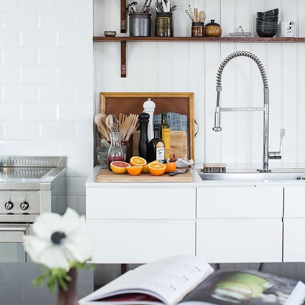 måla i köket