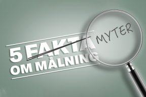 myter om målning