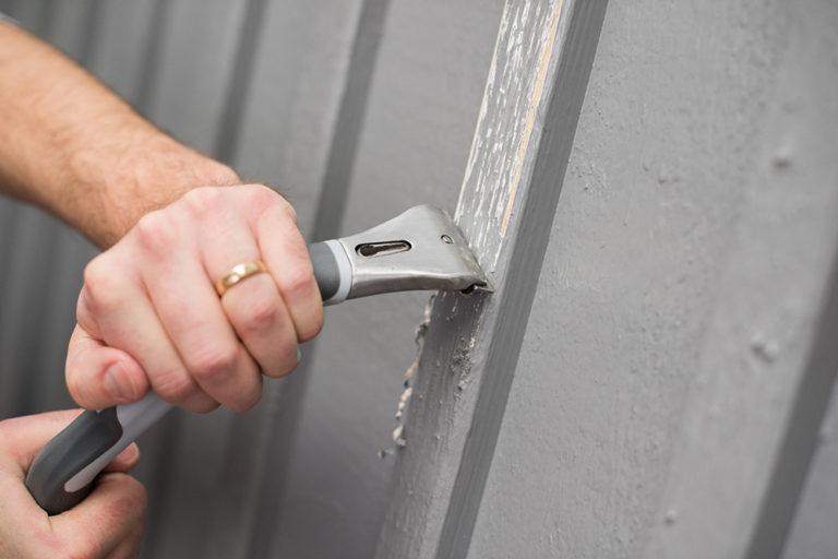 Skrapa fasad