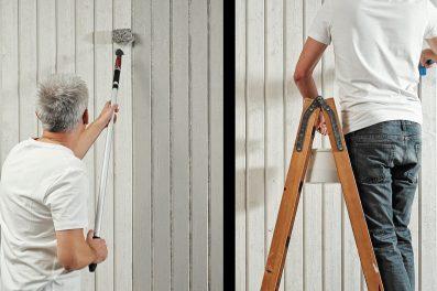 Måla huset på halva tiden