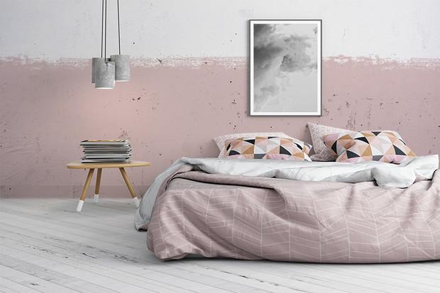 måla vägg med kalkfärg
