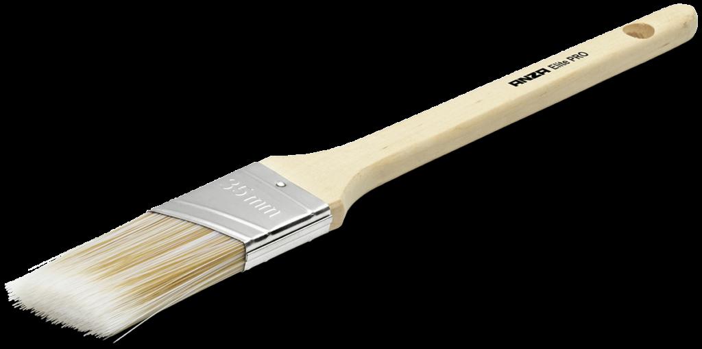Elite pro snedställd lackpensel 35 mm
