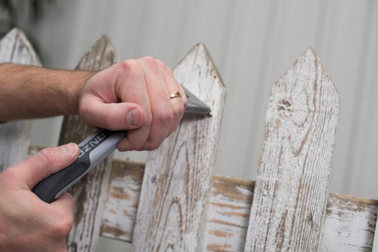 Skrapa staket