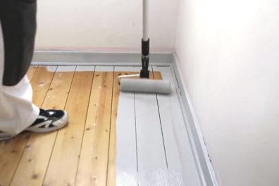 Måla golv