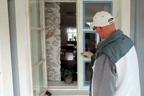 målar om fönster utvändigt