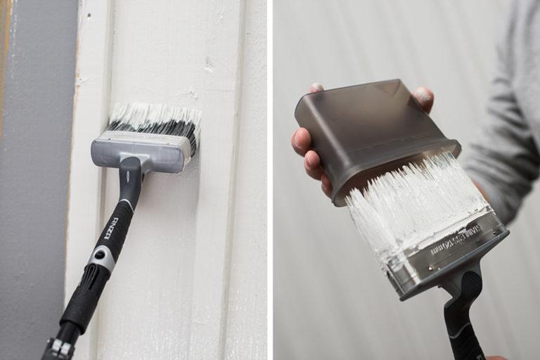Platinum vinklad fasadpensel måla hus förvaringsask