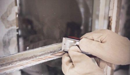Fönsterskrapa fönster