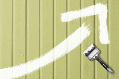 Vinsten med att måla fasaden