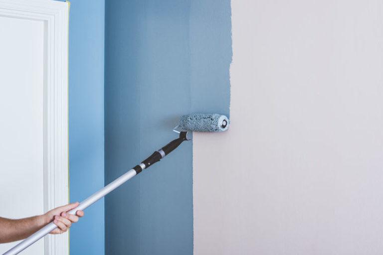 måla vägg
