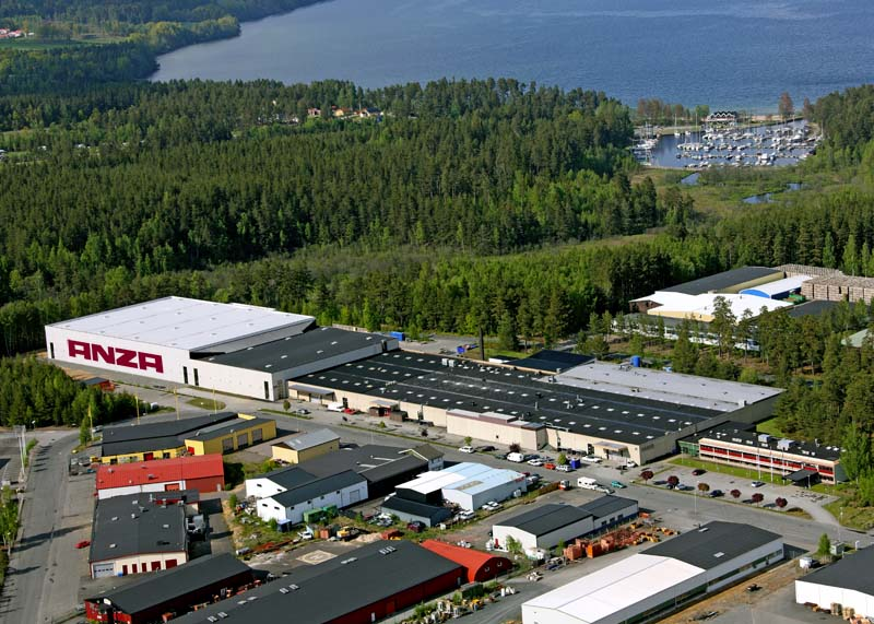 Flygfoto Bankerydsfabriken