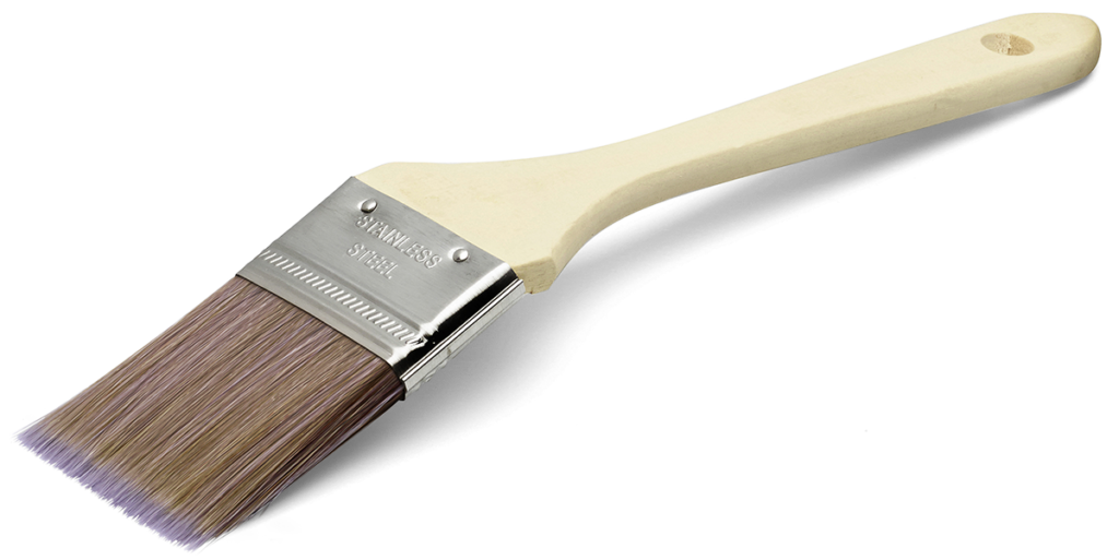 Basic pro kort vinkelpensel 50 mm