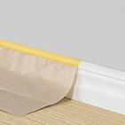 Täck lister med täckpapp