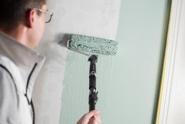 Rolla vägg platinum rollerbygel 23 cm roller platinum för medelfina ytor